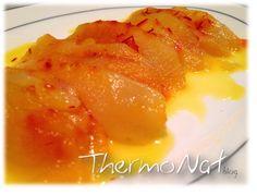 Fruit carpaccio with saffron via ThermoNat