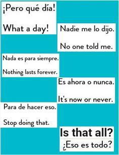 Spanish Help, Learn To Speak Spanish, Spanish Basics, Spanish Phrases, Spanish Grammar, Spanish English, Spanish Words, English Vocabulary Words, Spanish Language Learning