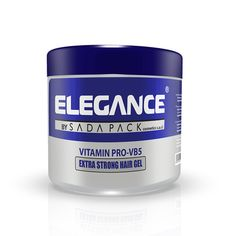 ELEGANCE Vitamin Extra Strong Hair Gel double impact shine of Elegance Extra Strong Hair Gel you can achieve the look that reflects your attitude.