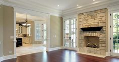 LOVE these windows and doors - floor to ceiling