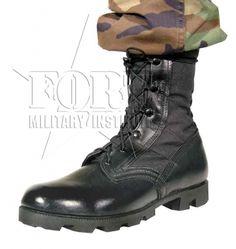 Buty Jungle - US ARMY - czarne, buty, obuwie wojskowe, fort military institute, sklep militarny, militaria, demobil, częstochowa