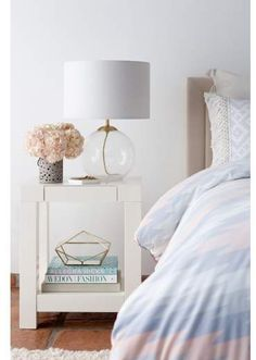 Bedroom ideas for decor. Fall in love with this beautiful home design. Cupcakes and Cashmere Seeded Glass Table Lamp Bedside Table Lamps, Unique Lamps, Furniture Styles, Bedroom Decor, Bedroom Ideas, Bedroom Inspiration, Master Bedroom, Bedroom Inspo, Comfy Bedroom