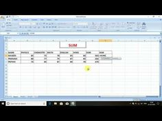 how to get sum in different ways in ms excel . first one is the normal sum the other way is related to row and column.