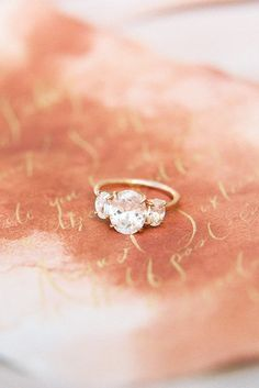 Oval Engagement Rings As A Way To Get More Sparkle ❤ See more: http://www.weddingforward.com/oval-engagement-rings/ #weddin