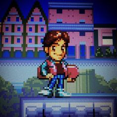 Shared by _lageekerie_ #nes #microhobbit (o) http://ift.tt/1oBQNy6 #future #marty #martymcfly #delorean #hoverboard #sprite #pixel #pixelart #timemachine #retrogaming #retro #videogames #cart #snes #supernintendo #nintendo #sega #retrogaming  #colors #board #skate #skateboarding