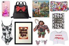 Mickey Bodysuit   The Little Mermaid Washbag   Girl Power Minnie Crop Top   Kate Spade Minnie Backpack   Castle iPhone Case   Mau...