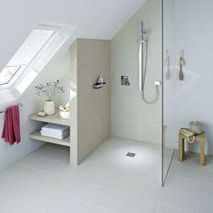 Refaire sa salle de bains : installer une douche à l'italienne