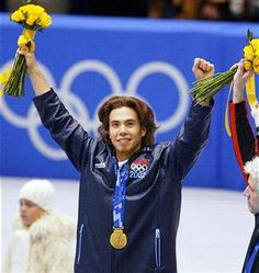 This is a list of many women who won gold medals and became figure skating Olympic champions at the Olympics. The Bride Movie, Father Of The Bride, Winter Olympic Games, Winter Games, Apolo Ohno, 2002 Winter Olympics, Time Of Our Lives, Family Bonding, Famous Men