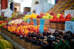 Healthy choices for your family AND your checkbook at your local farmers market..