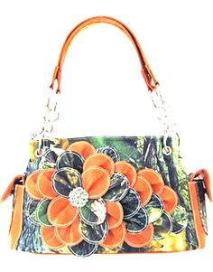 Not big on the flower purses but this one's kinda neat