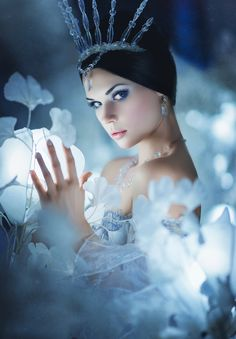 The Snow Queen. Ice Queen, Snow Queen, Fantasy Photography, Portrait Photography, Snow Maiden, Snow Fairy, Ice Princess, Foto Pose, Love Rose
