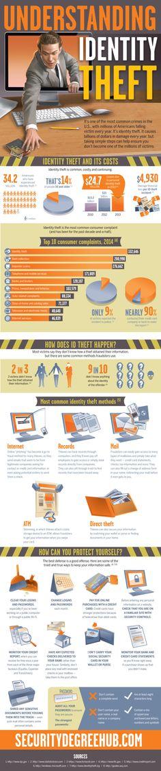 Infographic: Understanding Identity Theft   IDT911