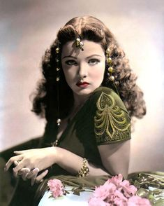 Old Hollywood Stars, Hollywood Icons, Old Hollywood Glamour, Golden Age Of Hollywood, Vintage Hollywood, Hollywood Actresses, Classic Hollywood, Stephane Audran, Gene Tierney