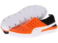 PUMA Yutaka Lite Vibrant Orange/White - Zappos.com Orange Shoes, Sneakers Nike, Vibrant, Free Shipping, Style, Fashion, Nike Tennis, Swag, Moda