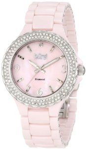 Burgi Women's BU47PK Diamond Ceramic Mother-Of-Pearl Quartz Watch. http://todaydeals.me/viewdetail.php?asin=B0078K3U3O