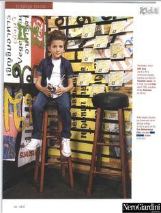 Kids - Febbraio 2014 #stileitaliano firmato #NeroGiardini