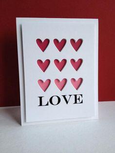 Nine Hearts of Love Simon Says Stamp Tic Tac Toe Hearts die  lisaadd