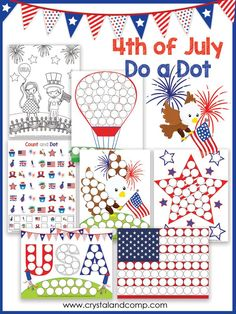 4th of July Do a Dot Pack