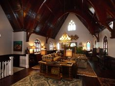 Speechless - looks like an old church conversion
