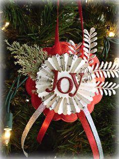 My Crafty Friend Jen: Last minute Christmas gifts - handmade ornaments