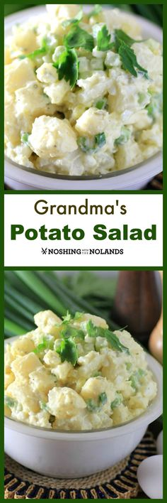 I like making potato salad it reminds me of my grandmother, so today I wanted to share with you Grandma's Potato Salad.