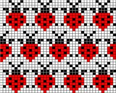 knitiot's Ladybug Mittens
