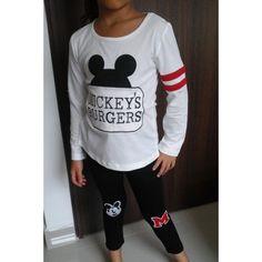 CONJUNTO MICKEY BLANCO - NEGRO Graphic Sweatshirt, T Shirt, Sweatshirts, Sweaters, Women, Fashion, Black White, Motors, Style