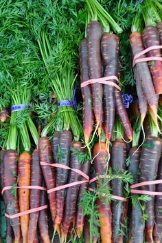 There's something just so raw and beautiful about fresh vegetables out of the earth.
