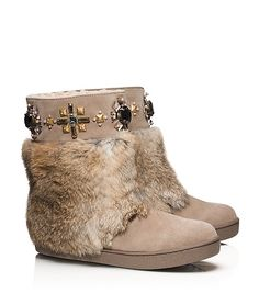 7406aa63e7e2 CURRAN EMBELLISHED BOOTIE Tory Burch Boots