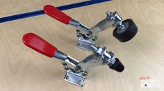 Toggle clamps are essential for woodworking jigs and fixtures. A lot of times they come with a rather small clamping foot. If you are using multiple clamps and/or securing the workpiece against a...