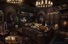 fantasy apothecary shop - Google Search