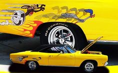 Road Runner. Haha!  Awesome graphics!!
