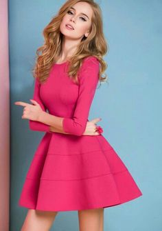 #Pink #dress