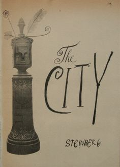 1950 The City by Saul Steinberg