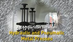 The metal fabrication industry requires various tools, machineries and equipment. Pneumatic and Hydraulic Metal Presses are one of the most essential equipment available for the metal fabrication sector. Squeezing, pressing and forming are usually done by either pneumatic or hydraulic presses. More @ http://in.kompass.com/s/metals-machinery-engineering/06/
