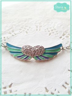 .:storin:. wings bracelet - more colours available  (find it at https://www.facebook.com/PequenosTesouros)