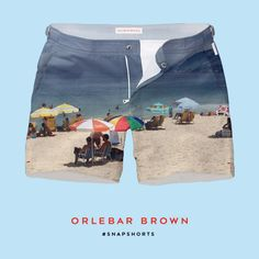 Ipanema Beach 2015 I've just created my own @orlebarbrown #SNAPSHORTS.