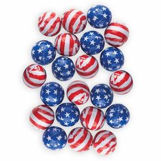 Chocolate Stars & Stripes Balls for a cute 4th of July, Memorial day, flag day, veterans day event! 866-735-2615 or www.goodlifeimprinting.com Chocolate Stars, Chocolate Heaven, Veterans Day, Memorial Day, 4th Of July, Balls, Flag, Stripes, Cute