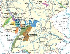 wine regions of germany | German Wine Regions (source: German Wine Institute)