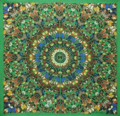 Damien Hirst and Alexander McQueen celebrate ten years with their signature print scarves