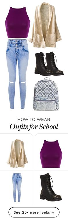 """""""Back to School Outfit"""" by brookelinneman on Polyvore"""