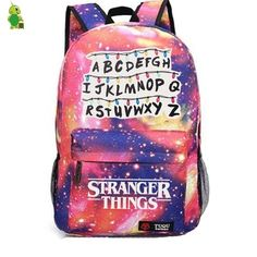 Best Stranger Things Backpack School Bags For Teenage collection from Missfox, affordable price, popular style and comfy material, time-limited sale, buy now. Stranger Things Season 3, Stranger Things Netflix, Stranger Things Stuff, Stranger Things Merchandise, Stranger Things Alphabet, Starnger Things, School Bags, Laptop Backpack, Travel Backpack