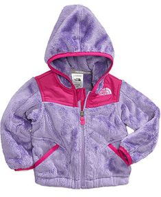 The North Face Baby Jacket, Baby Girls Oso Hoodie - Kids Baby Girl (0-24 months) - Macy's