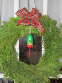 Lobster Buoy Birdhouse Ornament by CapeAnnBuoys on Etsy, $14.95