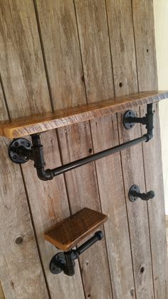 Check out this item in my Etsy shop https://www.etsy.com/listing/206364750/industrial-bath-set-with-reclaimed-wood