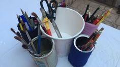 How to make a tin can holder Olga's dreamland - YouTube