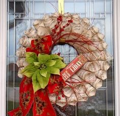 tea wreath craft - Google Search