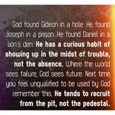 Thank God He shows up in the midst of trouble. Without Him I don't know what I would do.