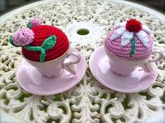 Tea Time Pincushion... by Loving The Vintage, via Flickr