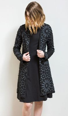 Alabama Chanin - Facets Classic Coat DIY Kit